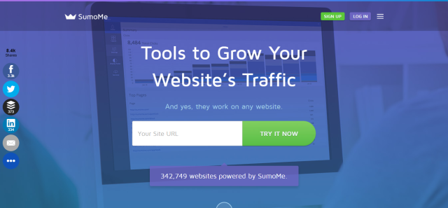SumoMe The Best Website Traffic Tools
