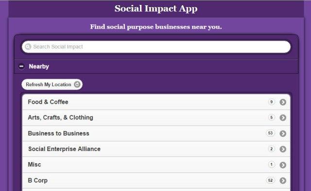 social-impact-app