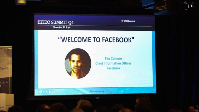 Tim Campos, CIO, Facebook