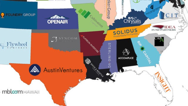 The Most Active VC Firms in Each State