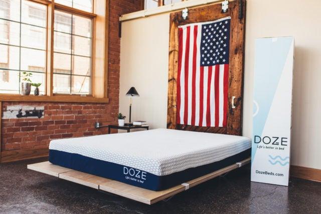 The Doze Mattress with box