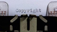 typewriter copyright