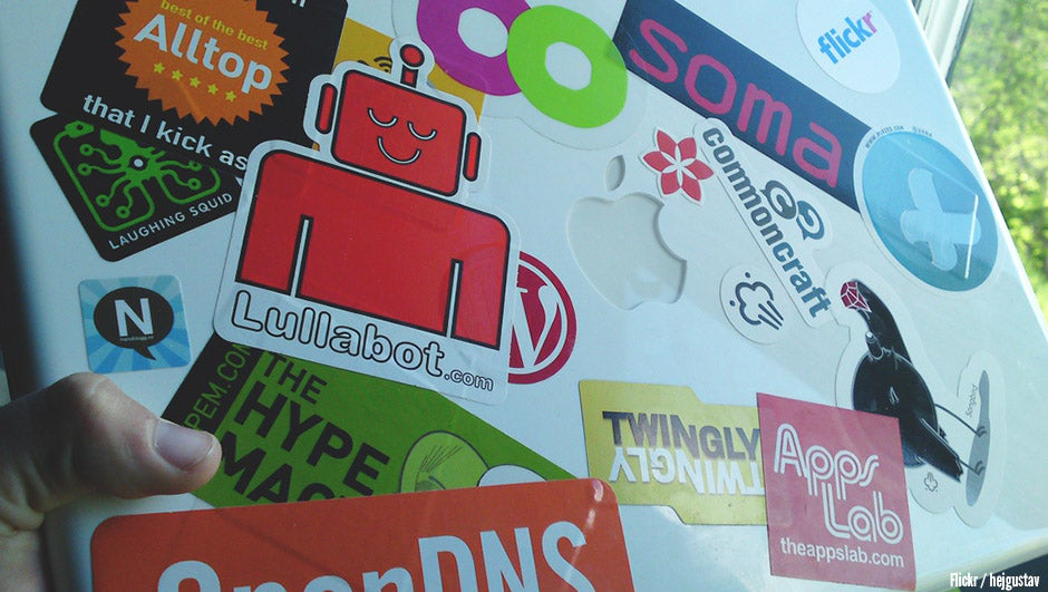 5 creative ways to use stickers to promote your brand