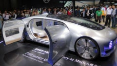 F 015 Mercedes Benz Autonomous Car