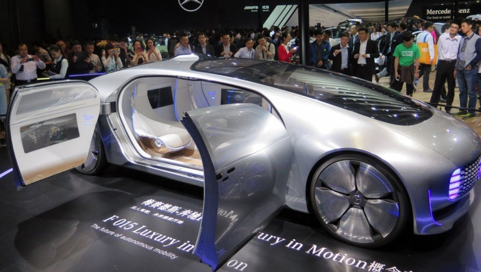 Mercedes F 015 >> Mercedes Benz and the Pursuit of Autonomous Cars