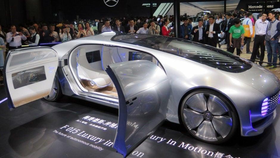 Mercedes Benz And The Pursuit Of Autonomous Cars