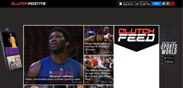 ClutchPoints Screenshot