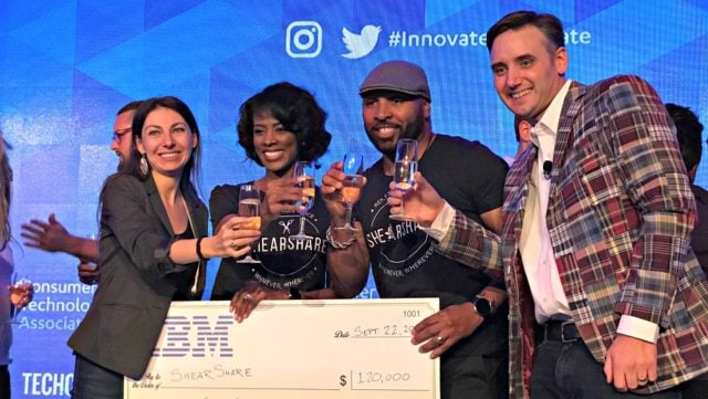 ShearShare Wins Startup of the Year at Innovate! and Celebrate Startup Competitions