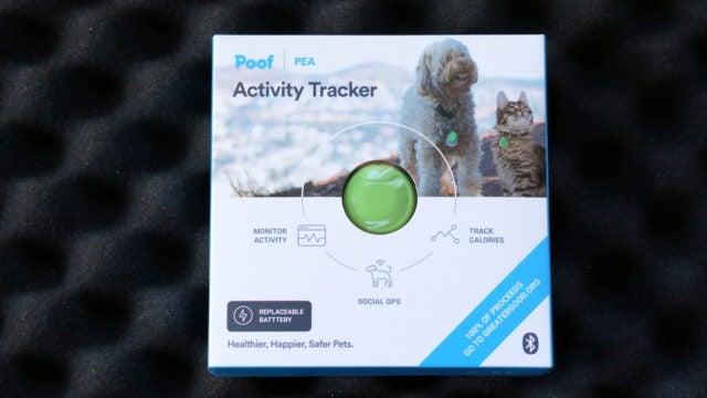 Poof Pea Pet Activity Tracker