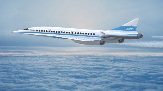 boom technology supersonic plane