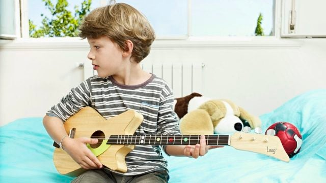How the Loog Guitar Gives Kids the Most Fun, Simple Instrument Possible