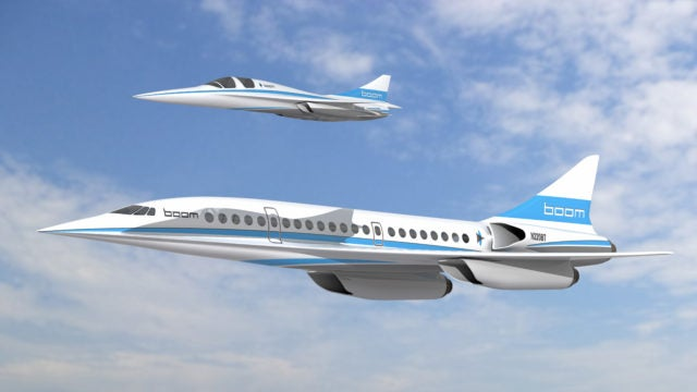 Here Comes The Boom Supersonic Plane