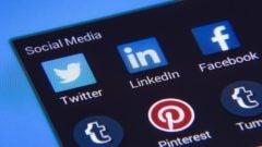 social media facebook at work