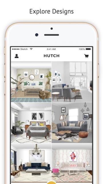 Hutch screenshot of app