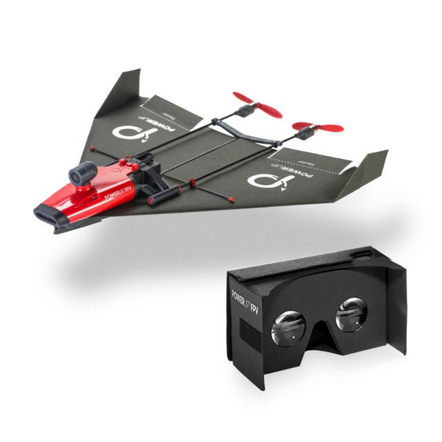Nostalgia and Tech Combine in POWERUP FPV, the Paper