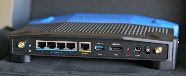 Linksys WRT 3200ACM back
