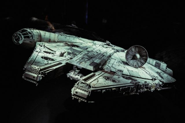 millennium falcon interstellar travel