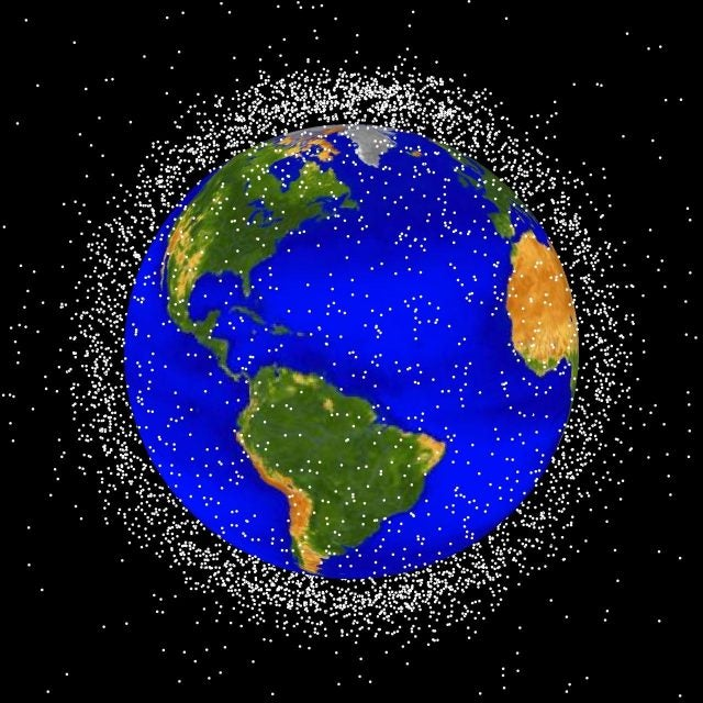 NASA, space junk, orbital debris