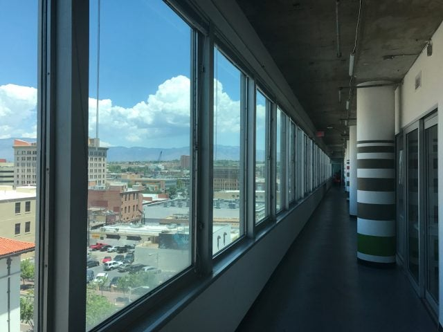 View of Albuquerque from Simms Space Coworking
