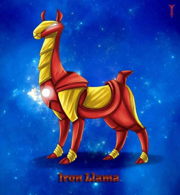 iron llama