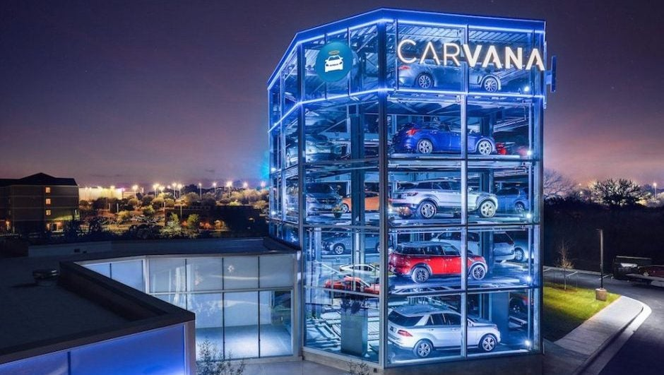 Carvana Will Finally Sell Cars In Their Backyard