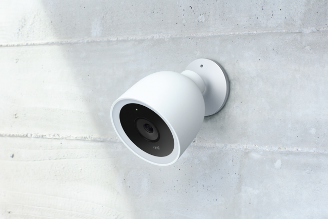 Nest Cam IT outdoor wall mounted