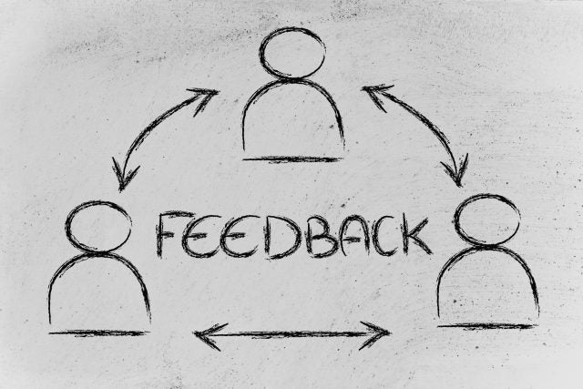 Encourage Feedback