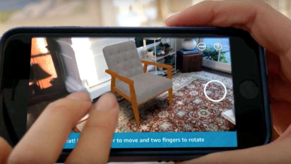 dde6cce6c81e Amazon Releases Augmented Reality App to View Products Before You Buy