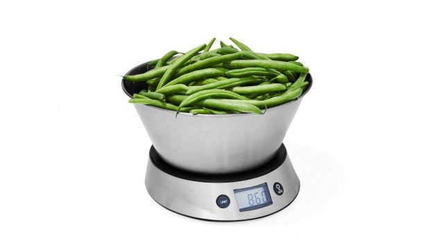 Taylor 11-Pound Weighing Bowl and Scale