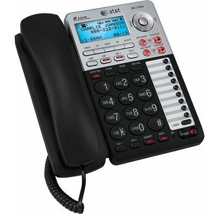 AT&T ML17939 2-Line Corded Deskphone