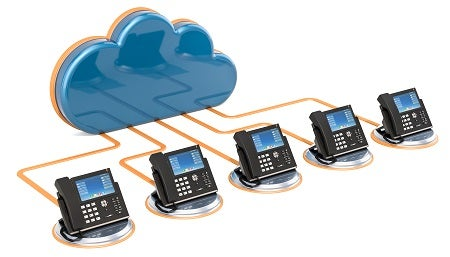 Cloud multiline phone system