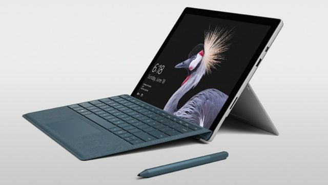 Microsoft Surface Tablet and Keyboard
