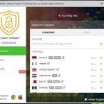Pure VPN desktop user interface