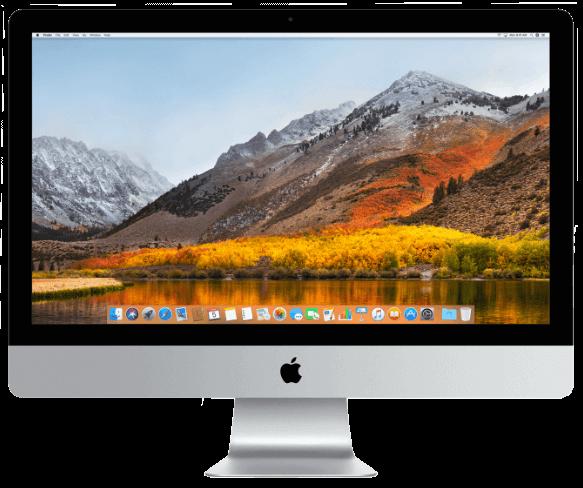 iMac running macOS