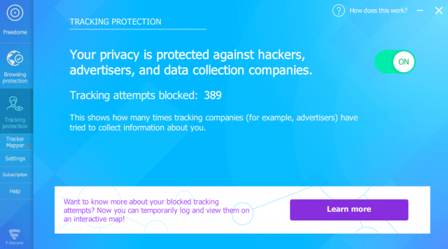 Freedome Protect from Hackers