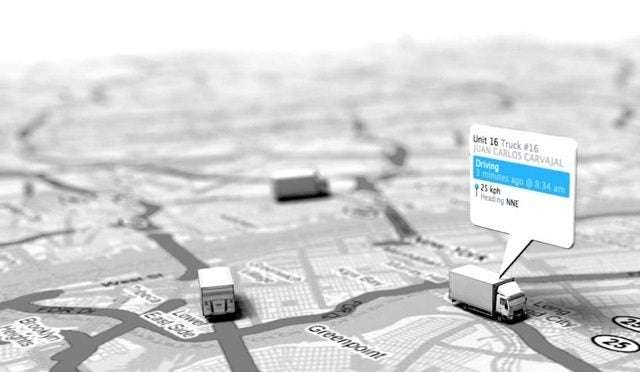 fleet management system map