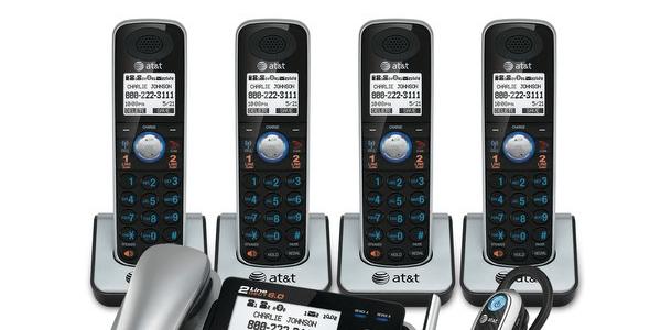 AT&T TL861091 2 line cordless phones