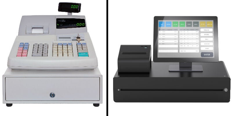 cash register vs pos system for small business