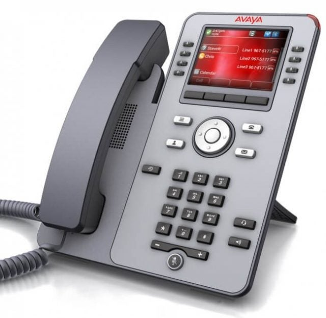 Avaya Phone Screen