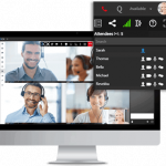 3cx offers one-click video conferencing with their UC system