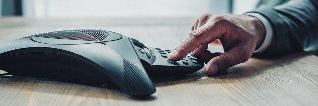 SIP phone in office