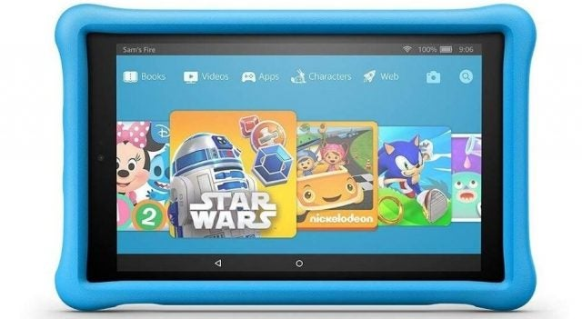 Amazon launch kids fire 10 tablet - tech.co