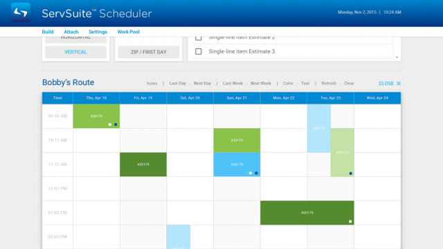 ServSuite Scheduler