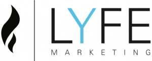 lyfe marketing logo social media management services