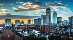 boston skyline innovate celebrate