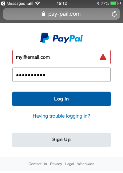 Watch Out for This New PayPal Text Message Scam
