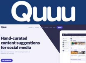 quuu social media management tool