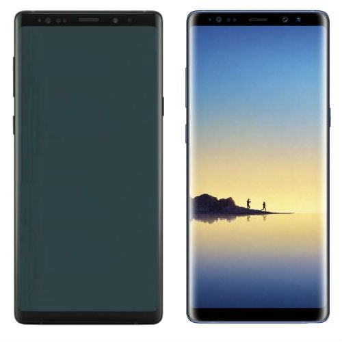 Samsung Galaxy Note 8 Samsung Galaxy Note 9 side by side comparison