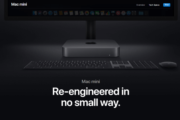mac mini high quality image example