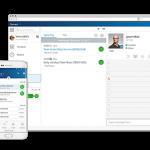 Mitel Phone System on desktop and mobile